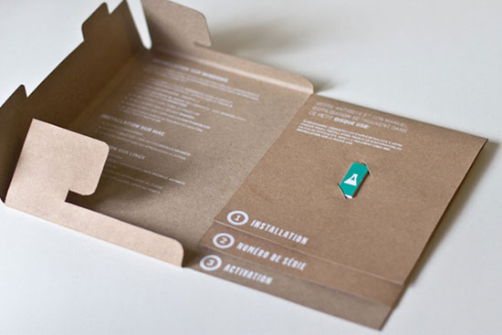 Antidote Software 2 Sustainable Package design