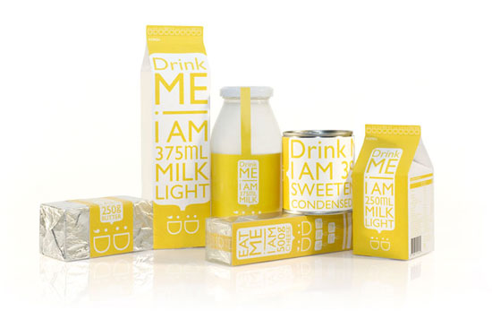 Daily Dairy Sustainable Package design