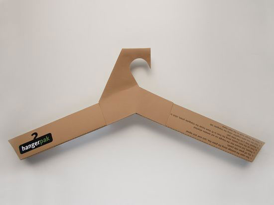 Hangerpak 2 Sustainable Package design