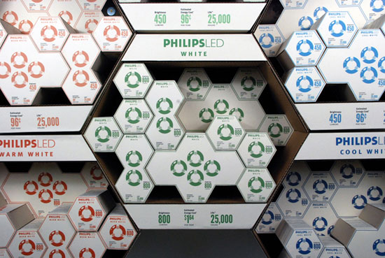 LED 1 Sustainable Package design