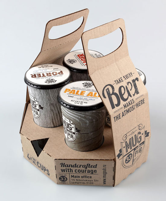 MUG pub Sustainable Package design