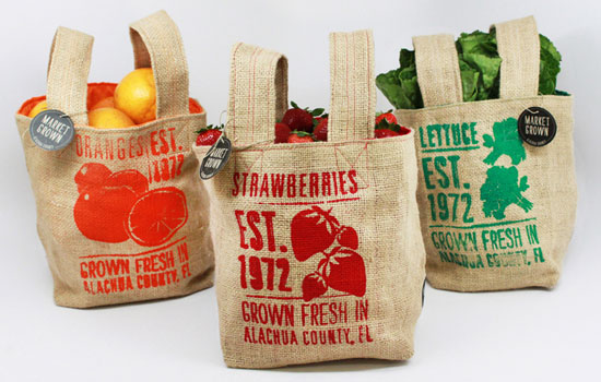 Market Grown Sustainable Package design