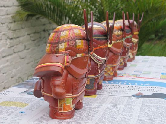 Mimushi Handcrafted Designer Figurines 2 Sustainable Package design