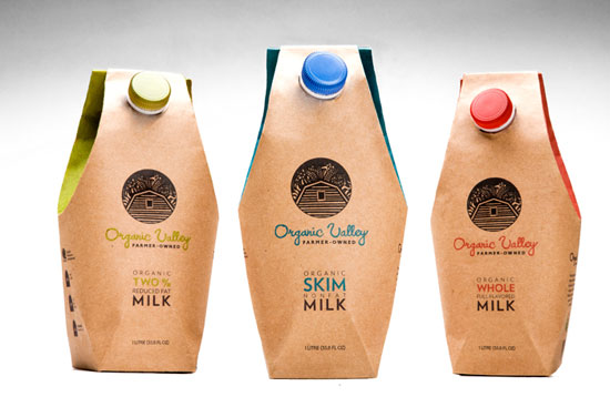 Organic Valley Sustainable Package design