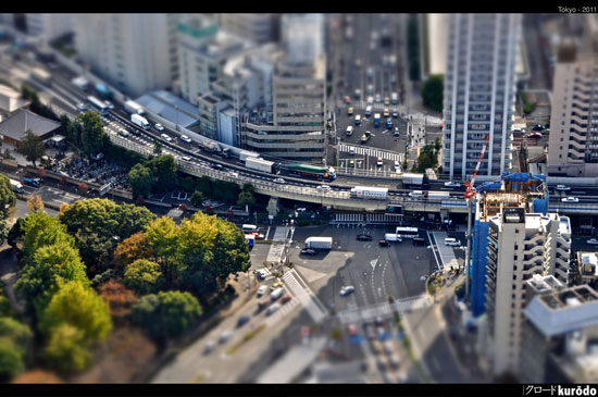 Tokyo - A Beautiful Miniaturized World Captured By Tilt Shift Photography