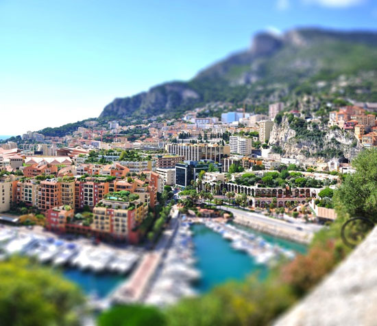 Monaco - A Beautiful Miniaturized World Captured By Tilt Shift Photography