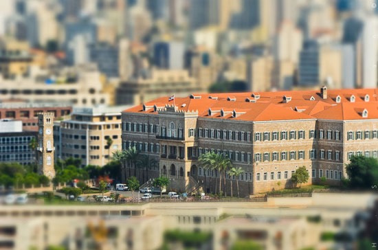 Beirut - A Beautiful Miniaturized World Captured By Tilt Shift Photography