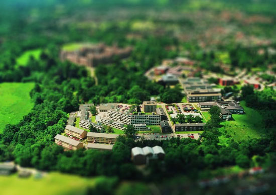 TEST  - A Beautiful Miniaturized World Captured By Tilt Shift Photography