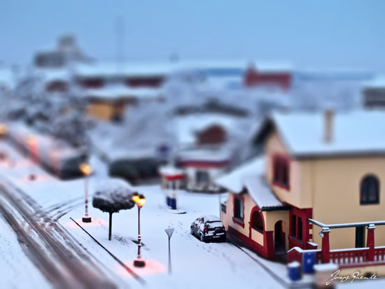 1 - A Beautiful Miniaturized World Captured By Tilt Shift Photography