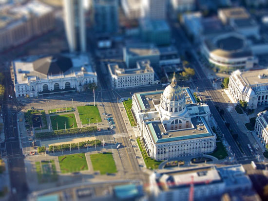 Mini Hall - A Beautiful Miniaturized World Captured By Tilt Shift Photography