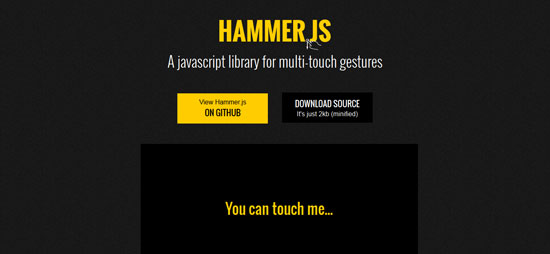 Hammer.js