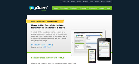 jQuery Plugins That Handle Touch Events - 43 Items
