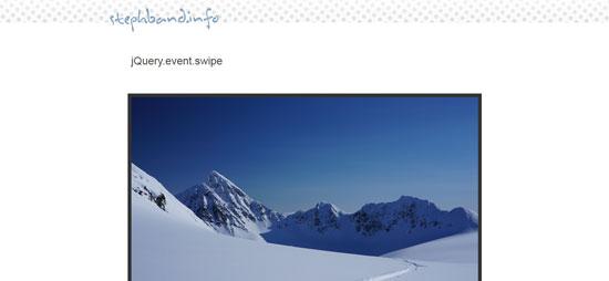 jQuery.event.swipe