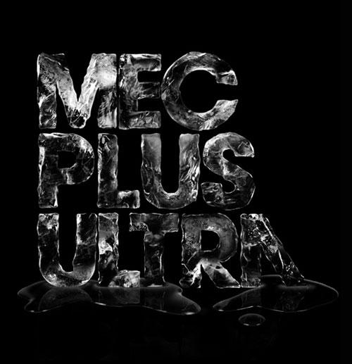 mec plus ultra typography