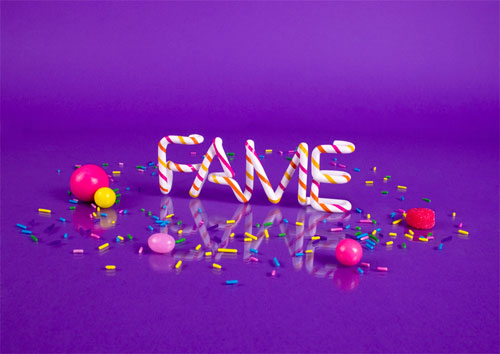fame typography
