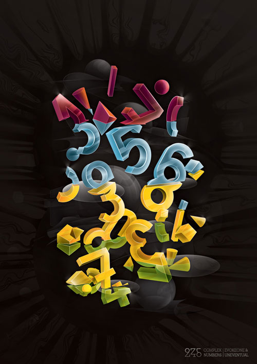 complex numbers typography