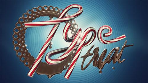 Type Treat typography
