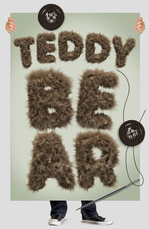 furry typography