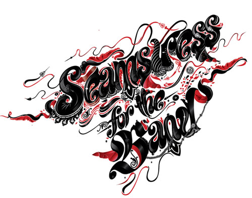 Seamstress for the Band typography
