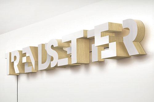 TRENDSETTER typography