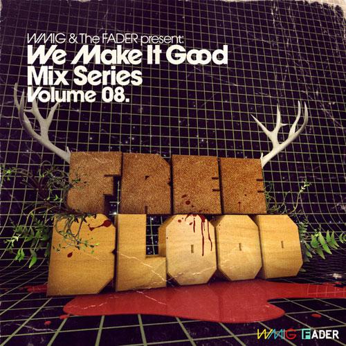 We Make It Good Mix Series typography