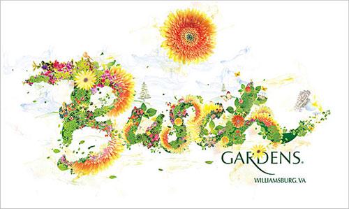 Busch Gardens typography