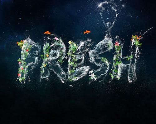 fresh typography