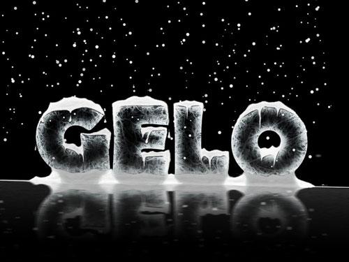 ice typography