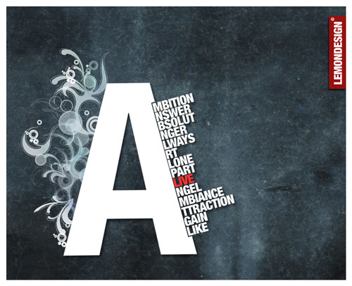 Typography - A