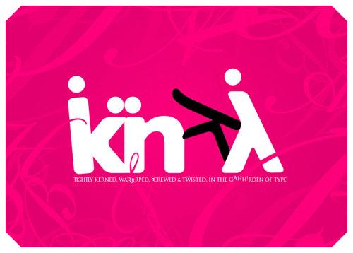 kinky Typography
