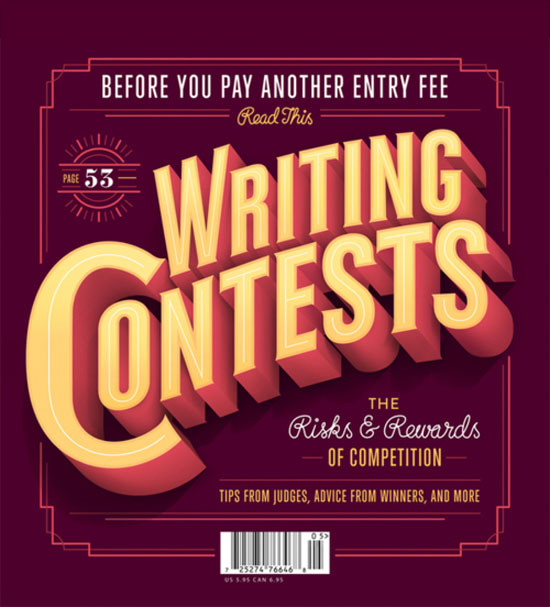 Writing contests Typography Inspiration