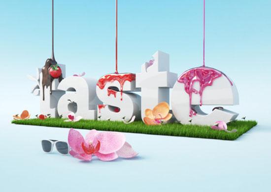 Taste Typography Inspiration