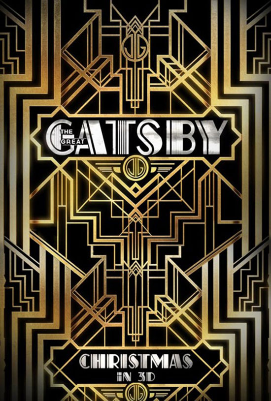 The great Gatsby Typography Inspiration