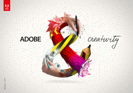 Adobe creativity Typography Inspiration