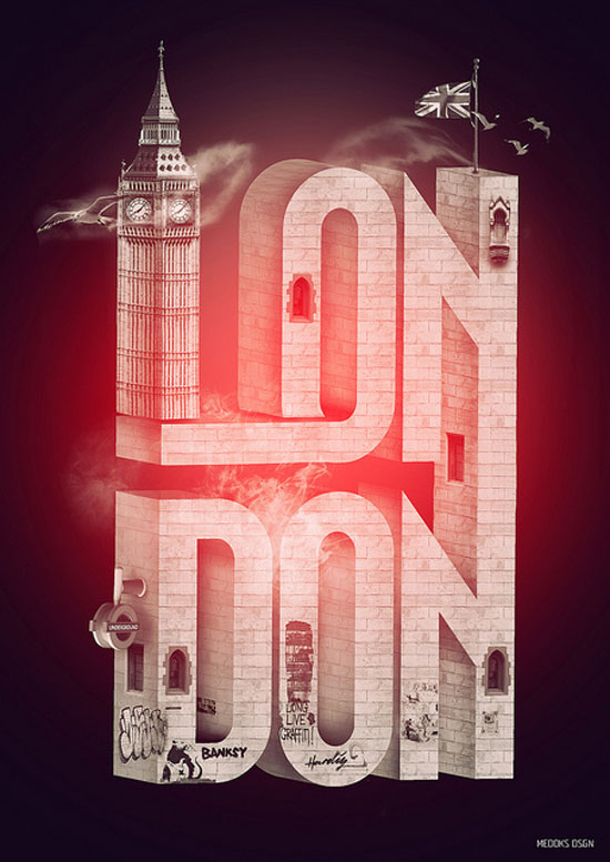 London Typography Inspiration