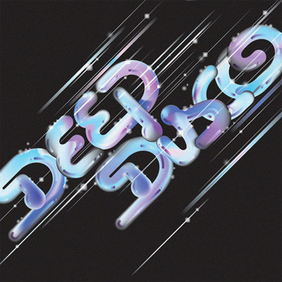Deep disco Typography Inspiration