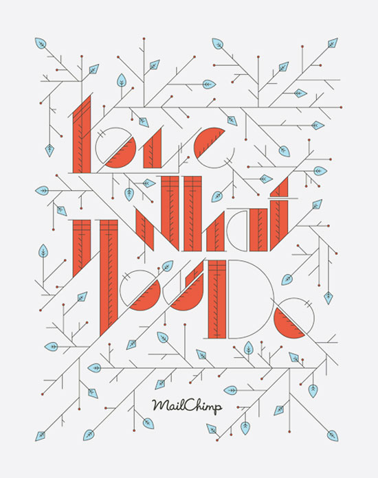 Love what you do Typography Inspiration