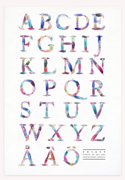 FRIAST typeface