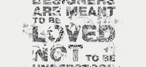 105 typography wallpaper examples for your desktop background