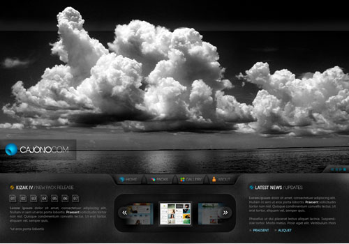 Spectacular Web Designs With Unique Layouts 28
