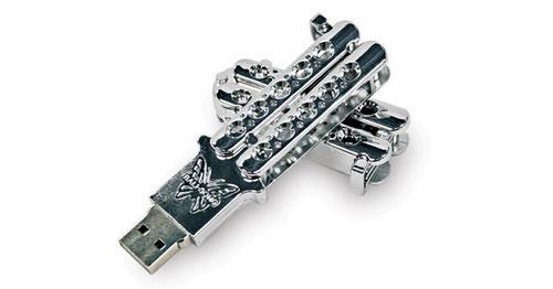 Butterfly Knife USB Drive