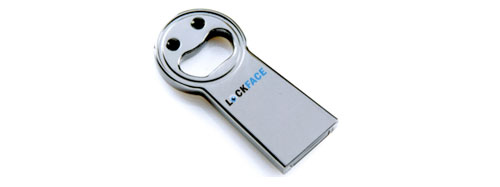 Lockface face recognition USB drive