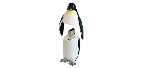 Penguin-powered bootable USB drive