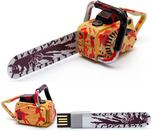 Resident Evil 5 USB Chainsaw Drive