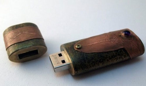 Steampunk Scorpion USB Drive