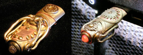 Steampunk-Inspired USB Stick