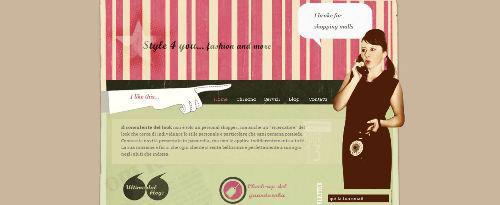 retro website