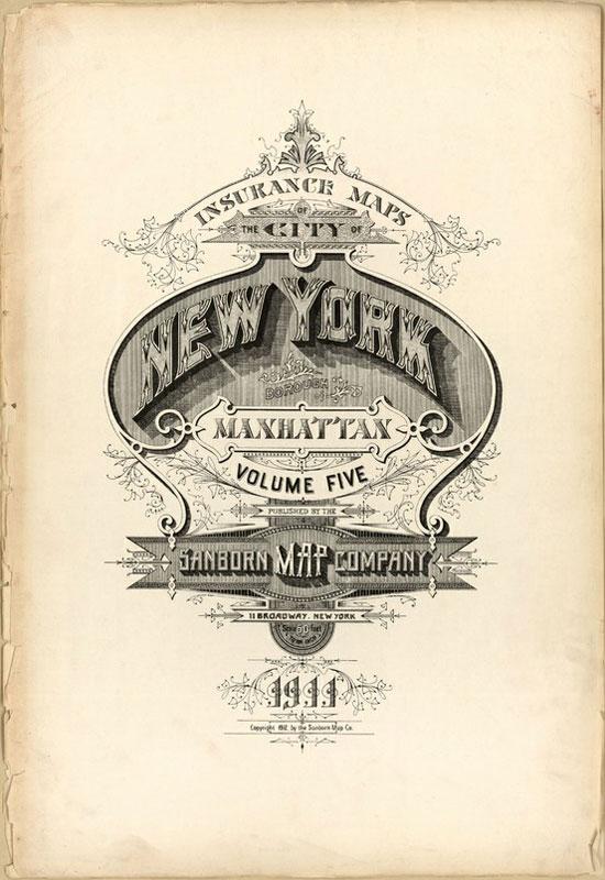 New York Vintage Typography Design