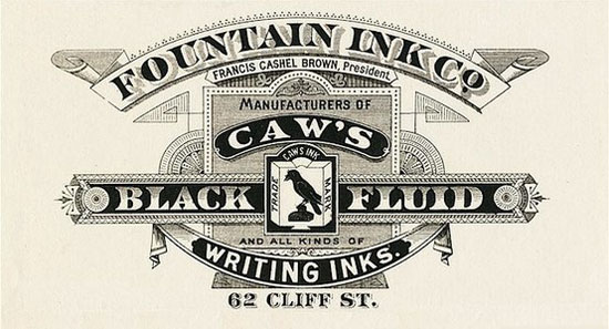 Caw's Black fluid Vintage Typography Design