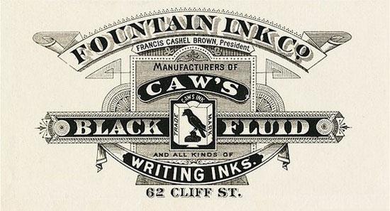 Caw's Black fluid Vintage Typography Design